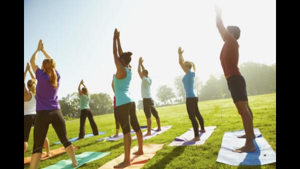 Health retreat with Yoga