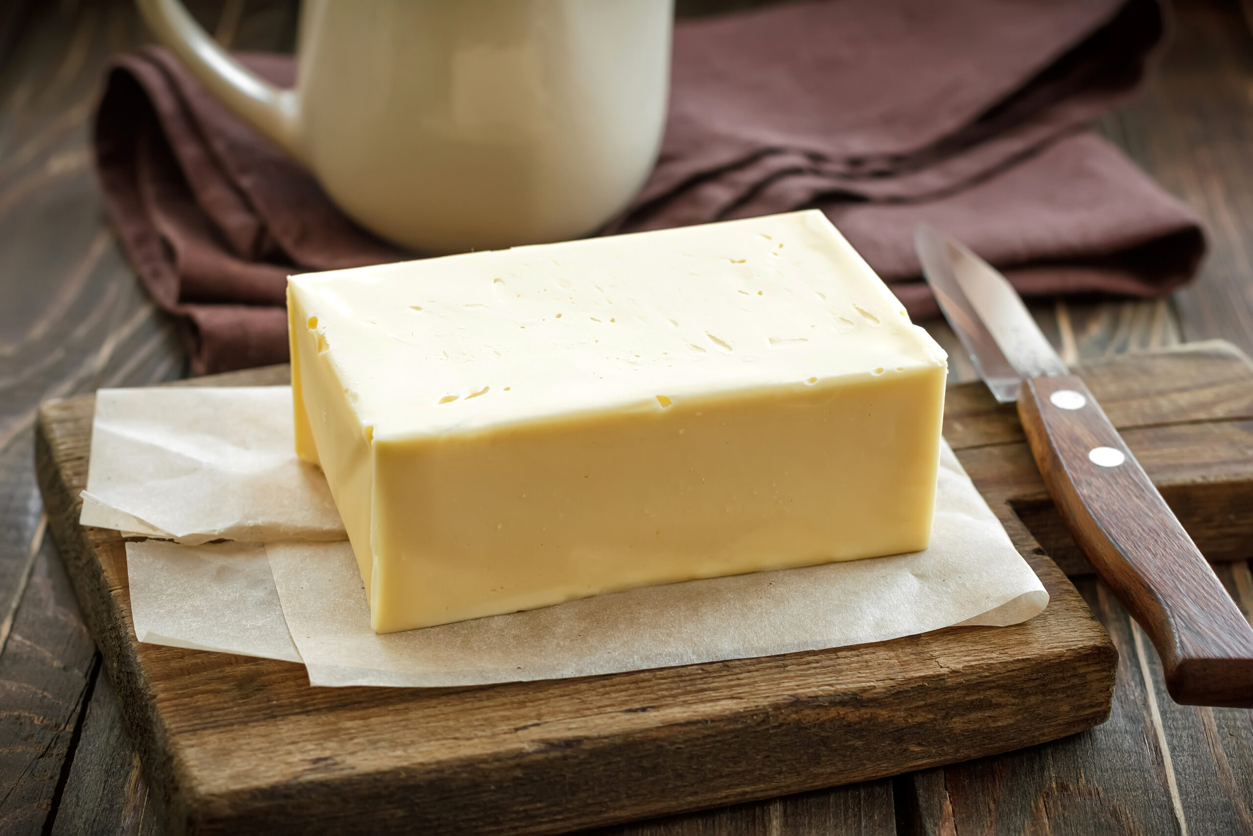 Butter: foods to freeze