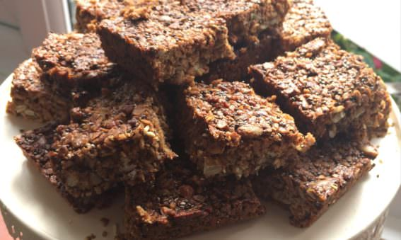 Healthy Protein Packed Granola Bars