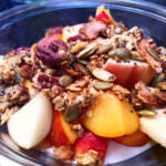 Nutritious Butternut Squash Cinnamon Granola; May Simpkin Nutrition