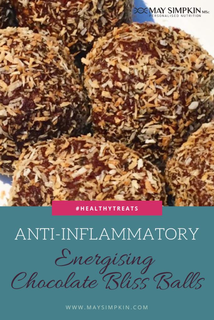 Energising Chocolate Bliss Balls PINTEREST