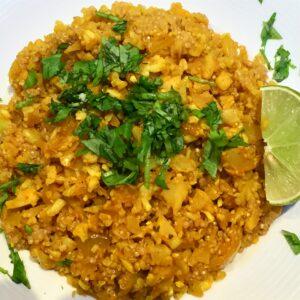Vegan Cauliflower & Quinoa rice