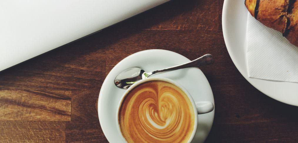 Breakfast cappucino
