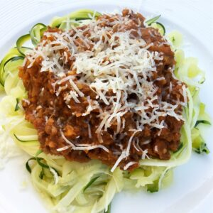 Fennel and Beef Bolognese
