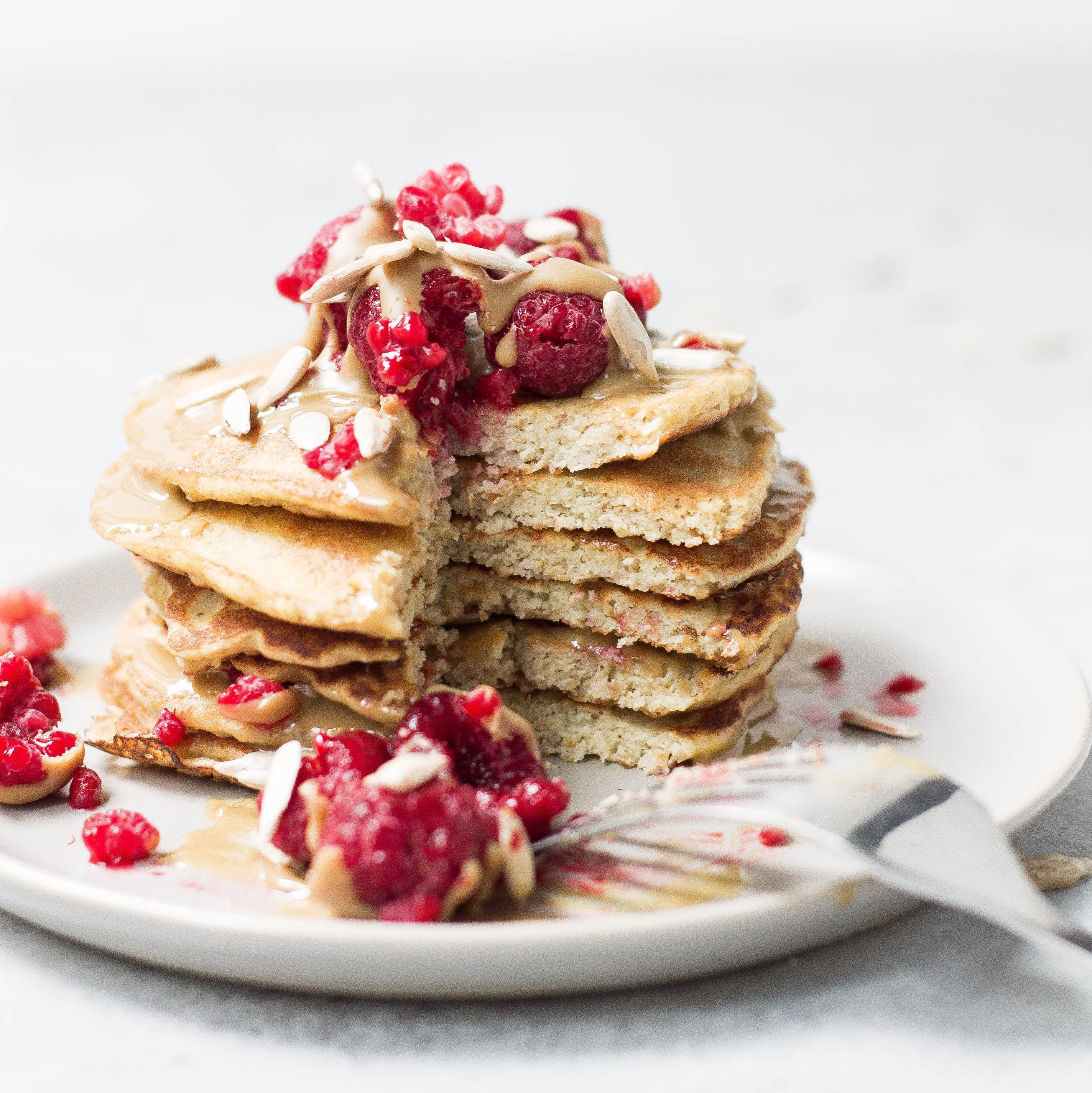 Protein Boost Buckwheat Pancakes May Simpkin