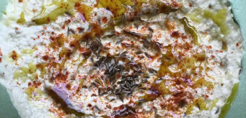 Garlic and Cumin Hummus