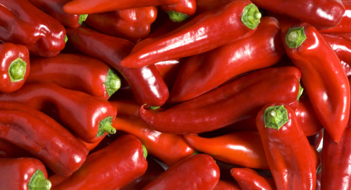 Red chilis