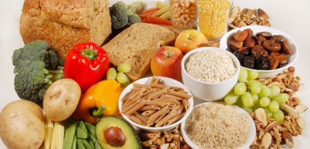 Vegan diet Fibre-rich foods
