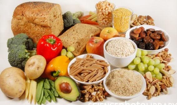 Vegan diet Fibre-rich foods