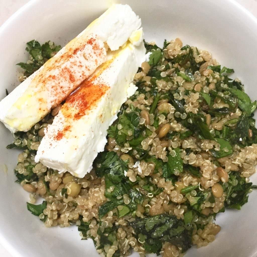 Quinoa and Lentil Tabbouleh