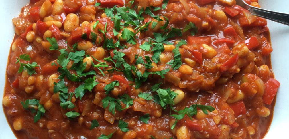 Alleviate headaches with Vegan Spicy Baked Beans