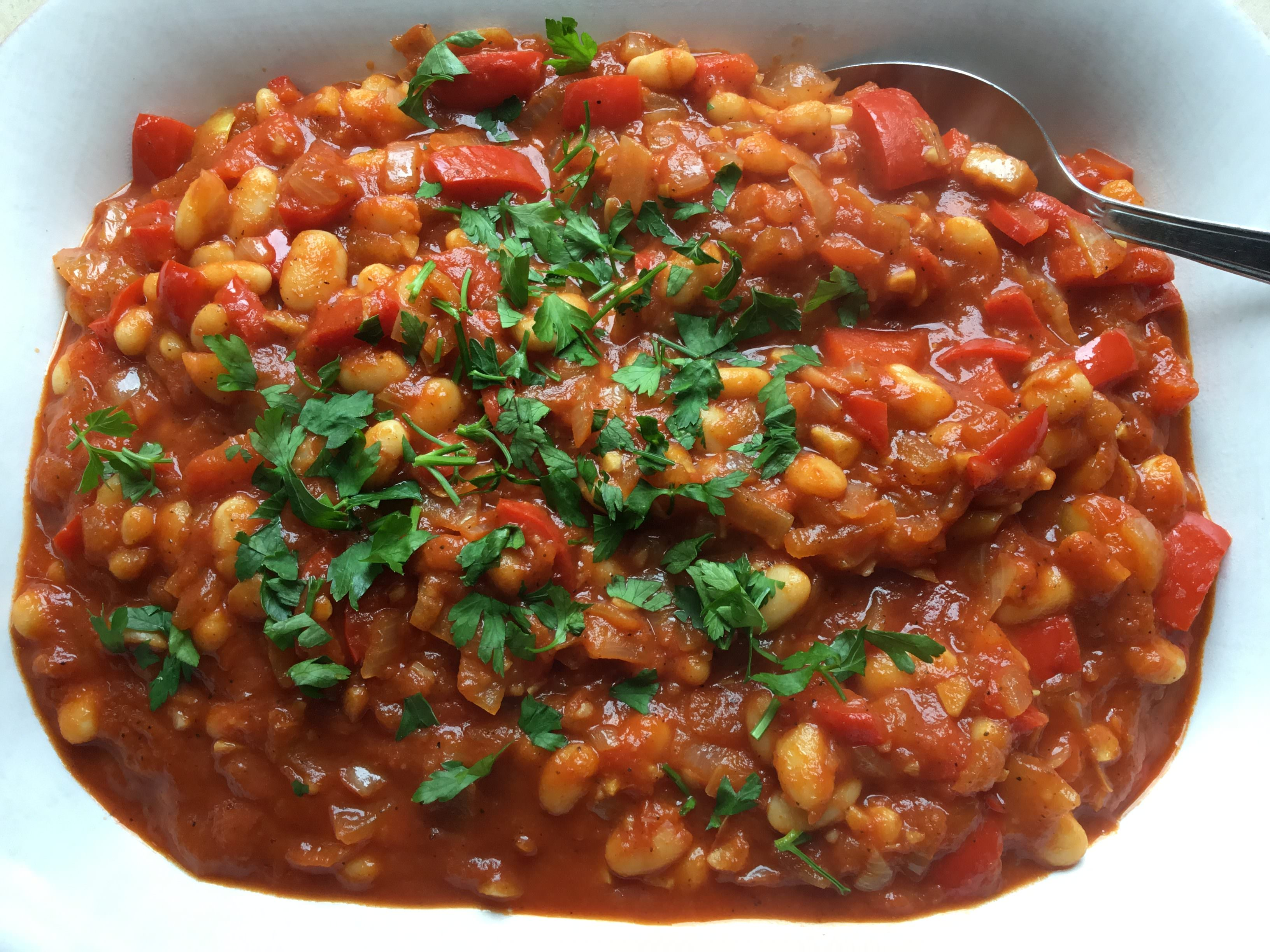 Spicy Baked Beans for headaches
