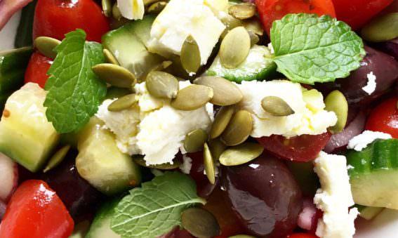 Mediterranean Diet Greek Salad