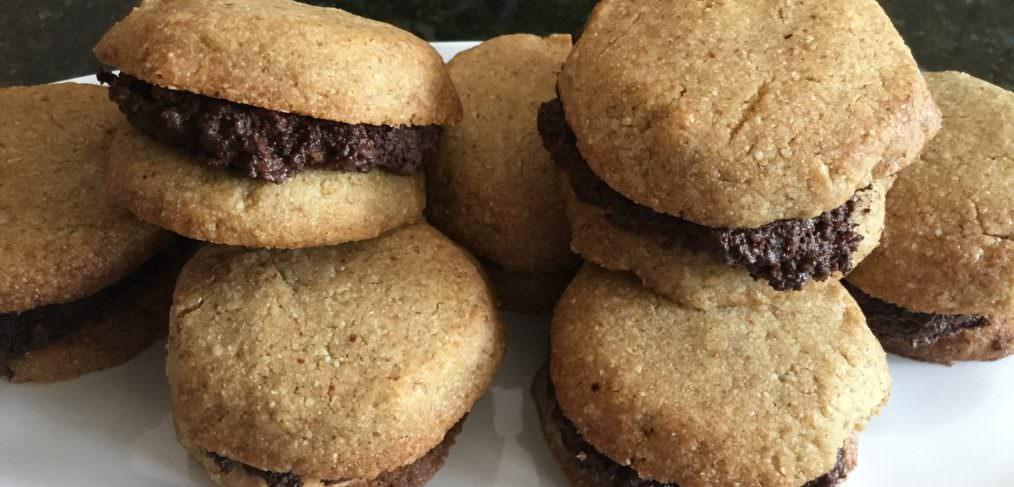 Gluten Free Chocolate Hazelnut cookies