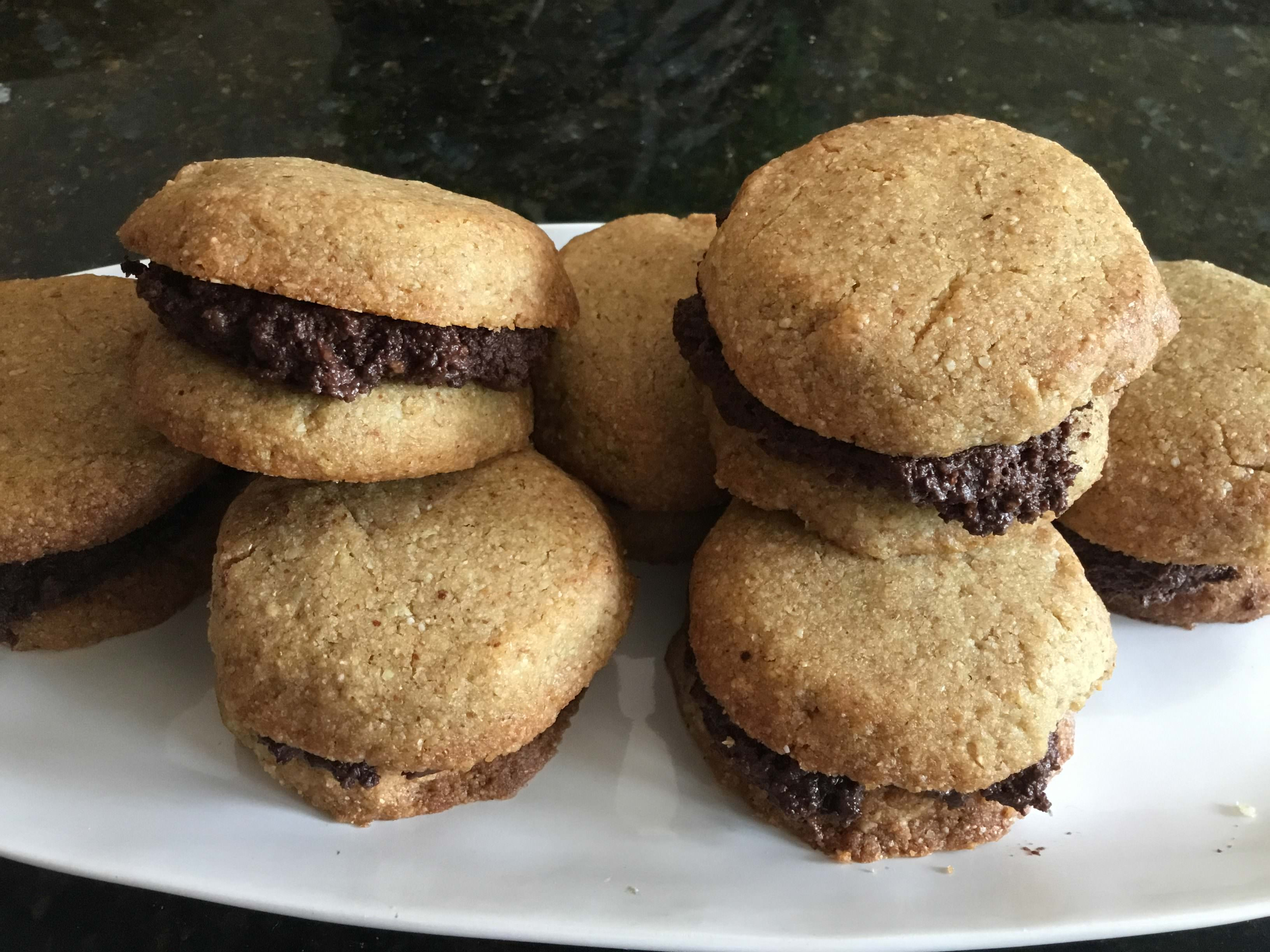 Chocolate & Hazelnut cookies