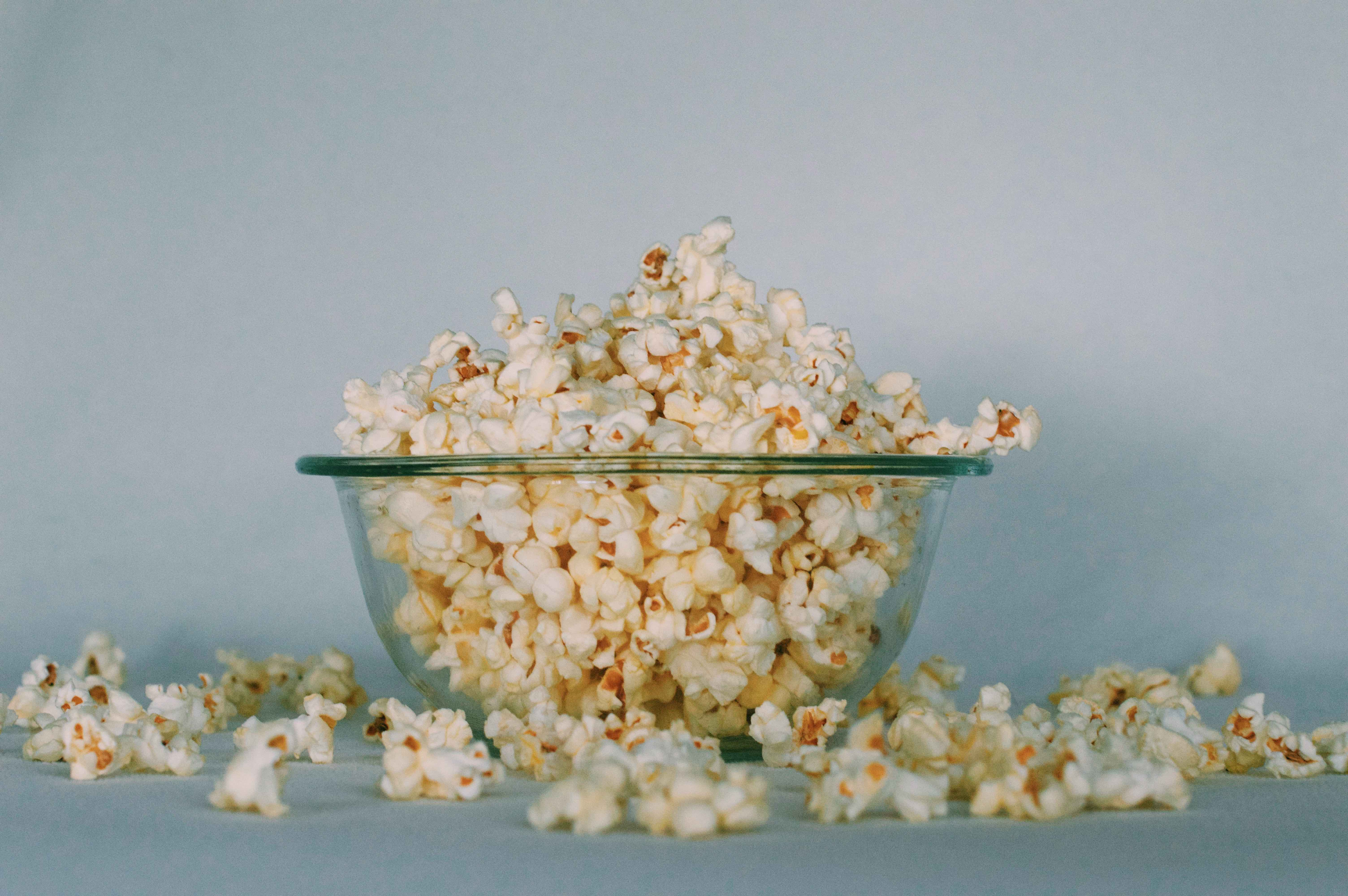 Popcorn for low calorie snacks