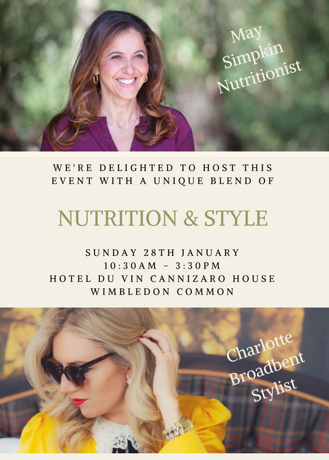 2018 Nutrition and Style Workshop May Simpkin Nutrition