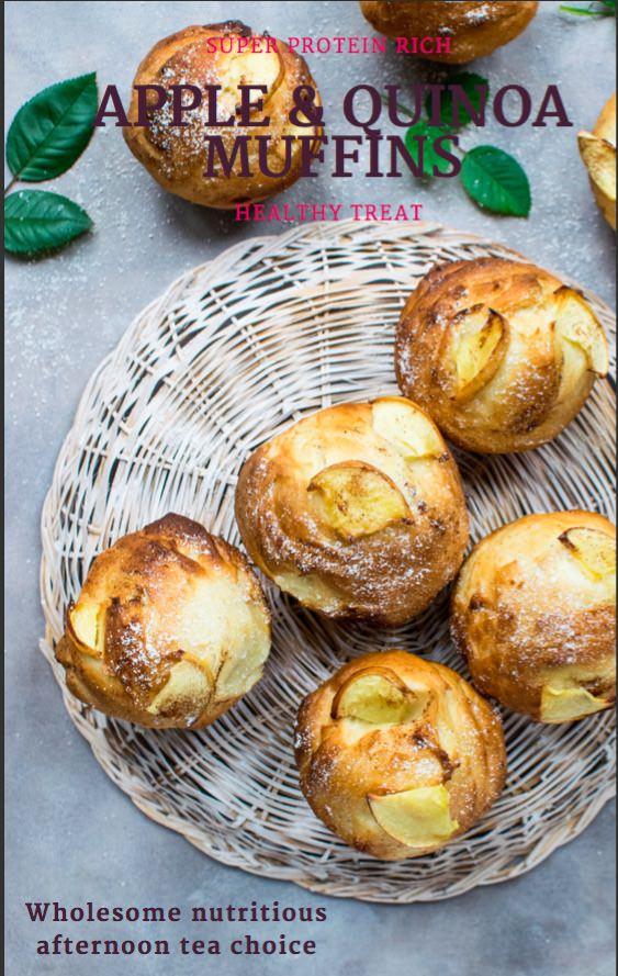 Apple & Quinoa Muffins