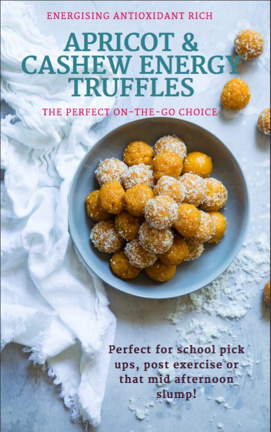 Apricot & Cashew Truffles