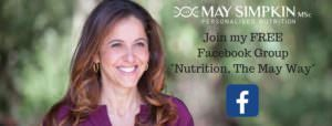 Free Facebook Group Nutrition-The May Way