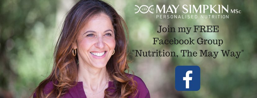 Join my FREE Facebook_Nutrition, The May Way_