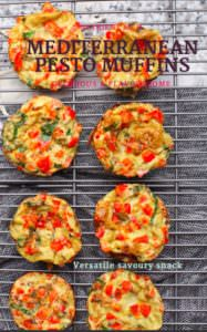 Eggs to make savoury muffins