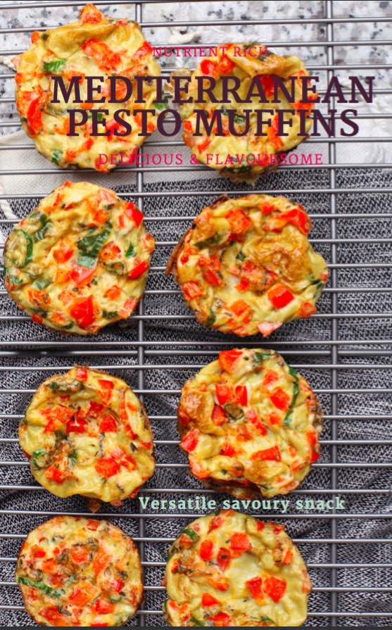 Using Eggs for Mediterranean Pesto Muffins