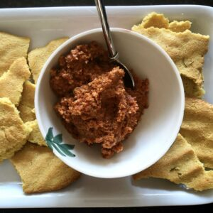 Delicious Sun Dried Tomato Tapenade from May Simpkin Nutrition