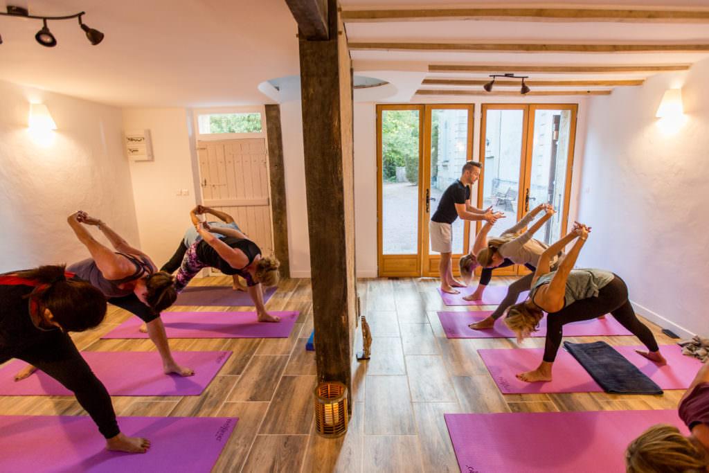 Yoga Health Retreat in a French Chateau