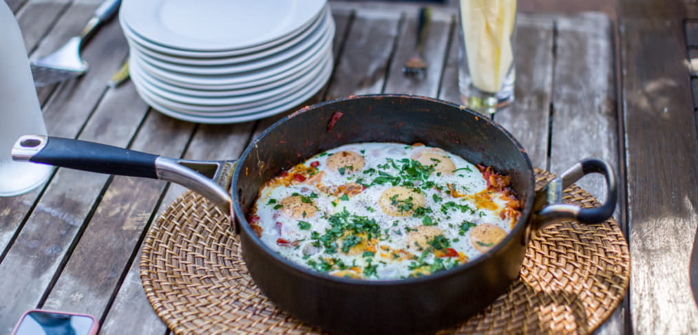 Spiced Tomato and Onion Shakshuka