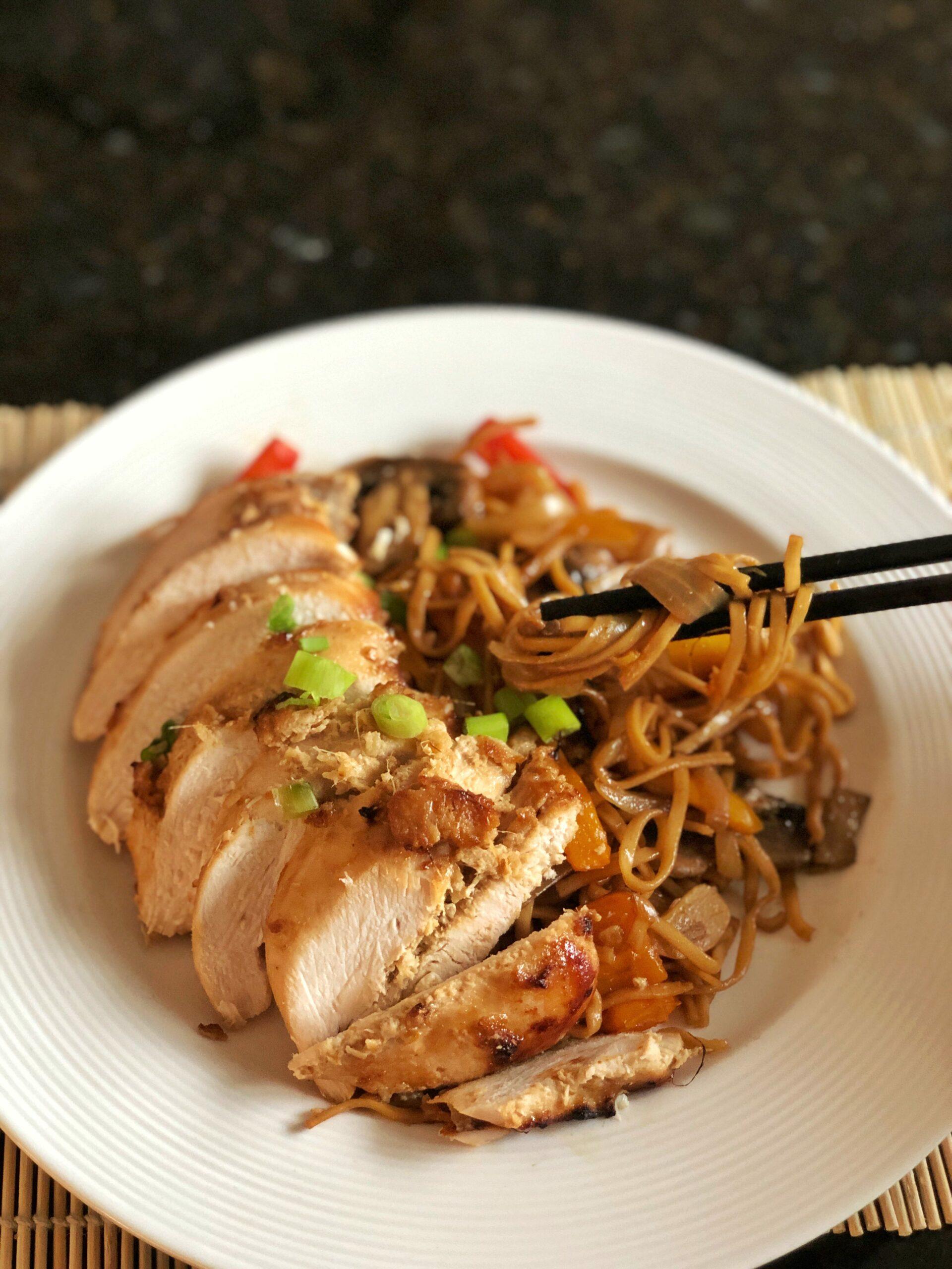 Healthy asian marinade