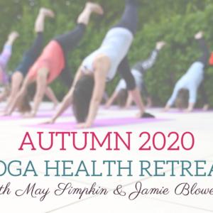 yoga retreat autumn 2020