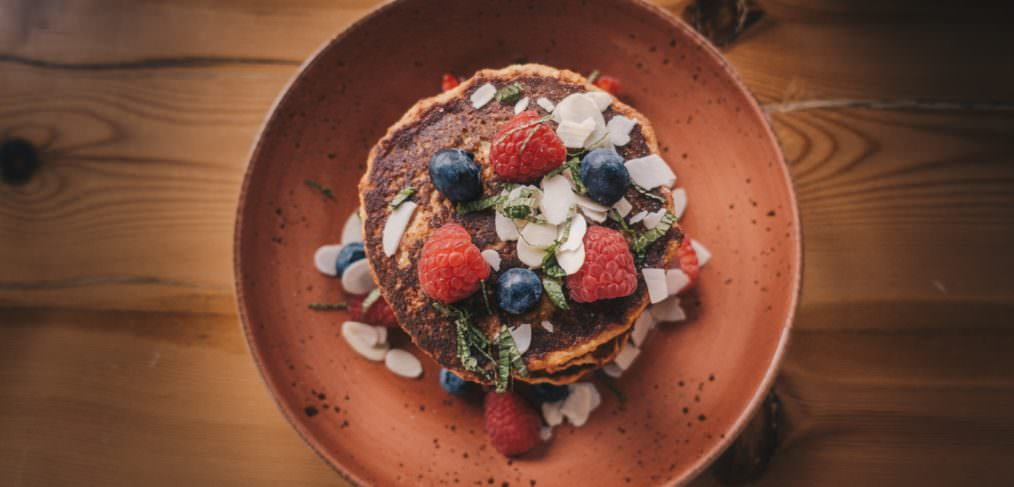 Super Simple Healthy Oat Pancakes from May Simpkin Nutrition