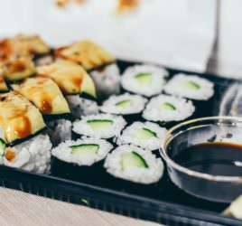 Is sushi a healthy choice asks nutritionist May Simpkin