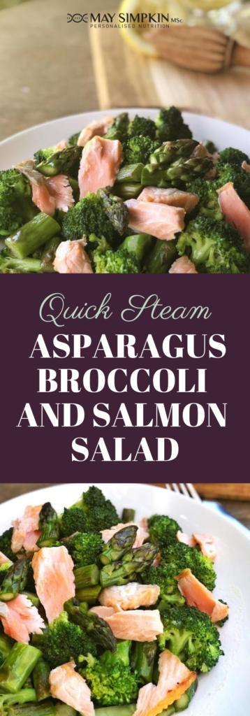 Asparagus, Broccoli and Salmon Salad