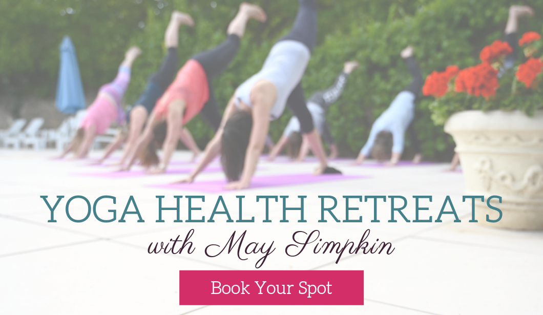 Yoga Health Retreats with May Simpkin and Jamie Bowers in Loire Valley, France