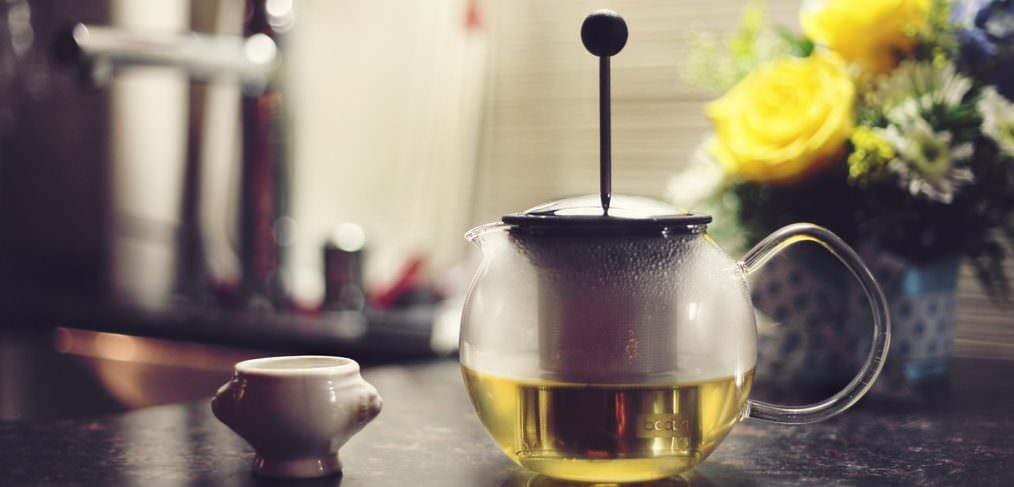 Reach for a herbal tea when you're feeling stressed