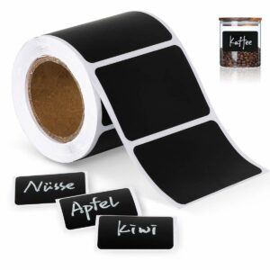 Healthy Foodie Gift Guide May Simpkin Nutrition; Reusable Blackboard label stickers