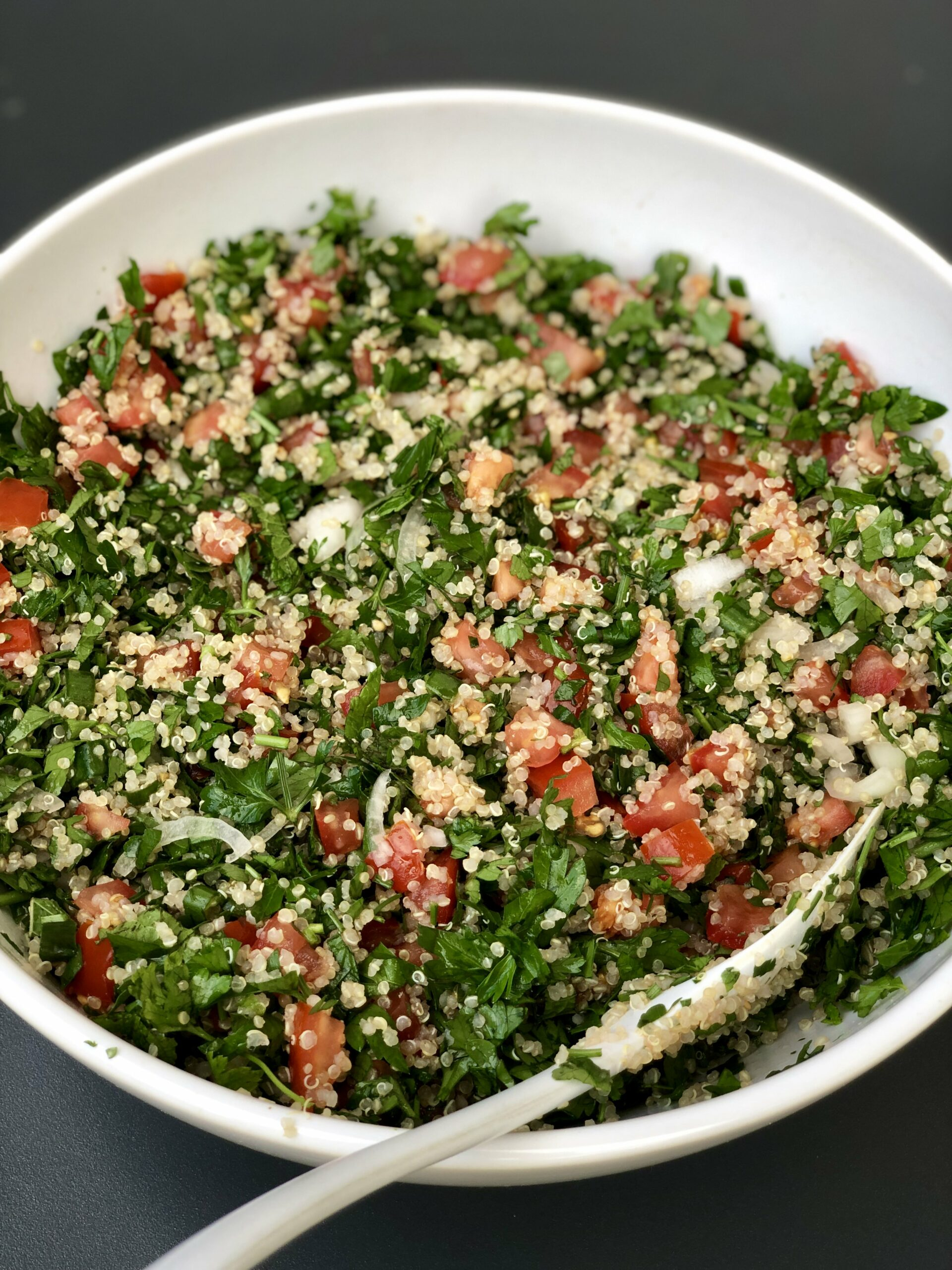 Fresh Quinoa Tabbouleh