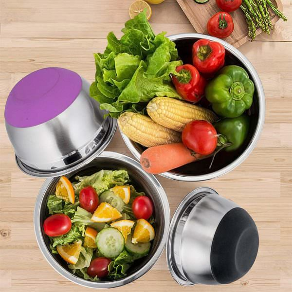 Mixing bowls for the healthy foodie gift guide