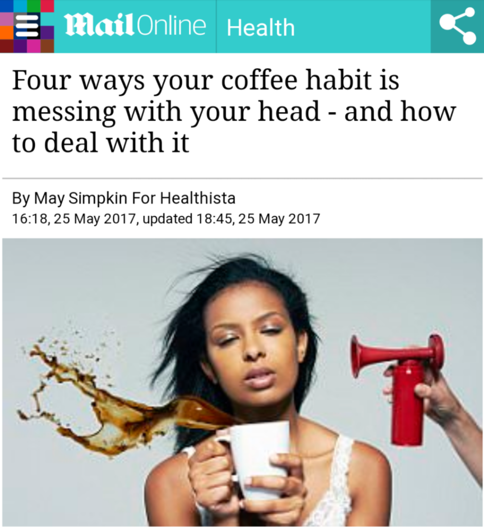 Four ways your coffee habit is messing with your head - and how to deal with it