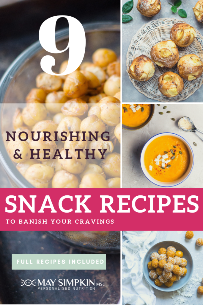 9 NOURISHING and HEALTHY SNACK RECIPES