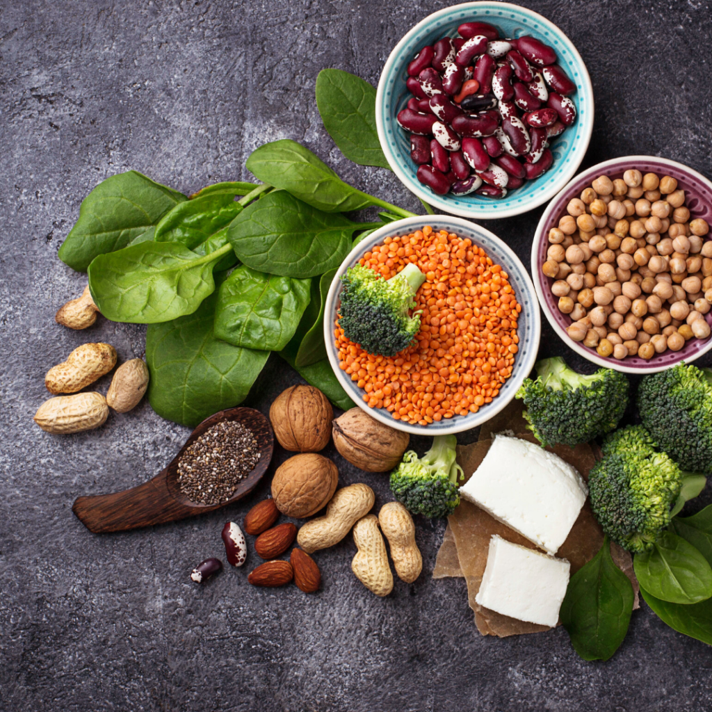 What vegan foods are high in protein
