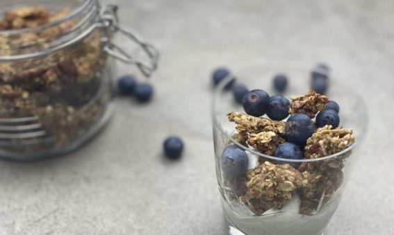 Healthy Banana Bread Granola; May Simpkin
