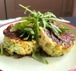 Quick and Easy Courgette and Sweetcorn Fritters