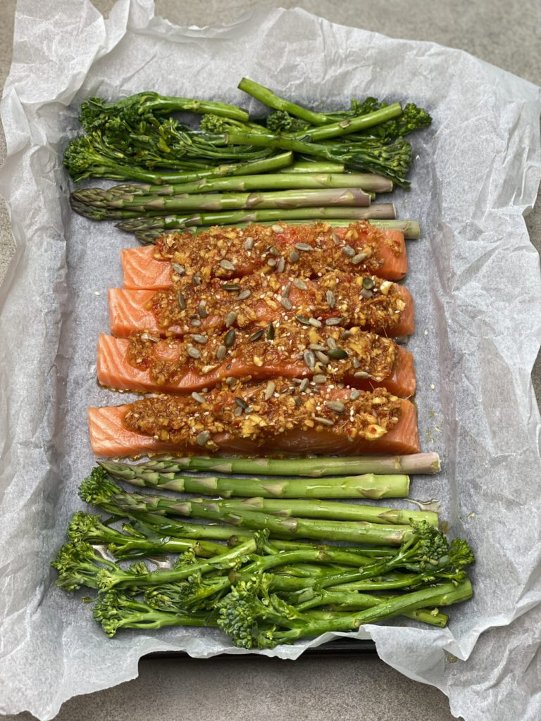 Baked Asian Salmon for vitamin D; top foods to eat regularly