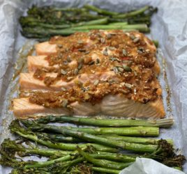 Easy Healthy Baked Asian Salmon