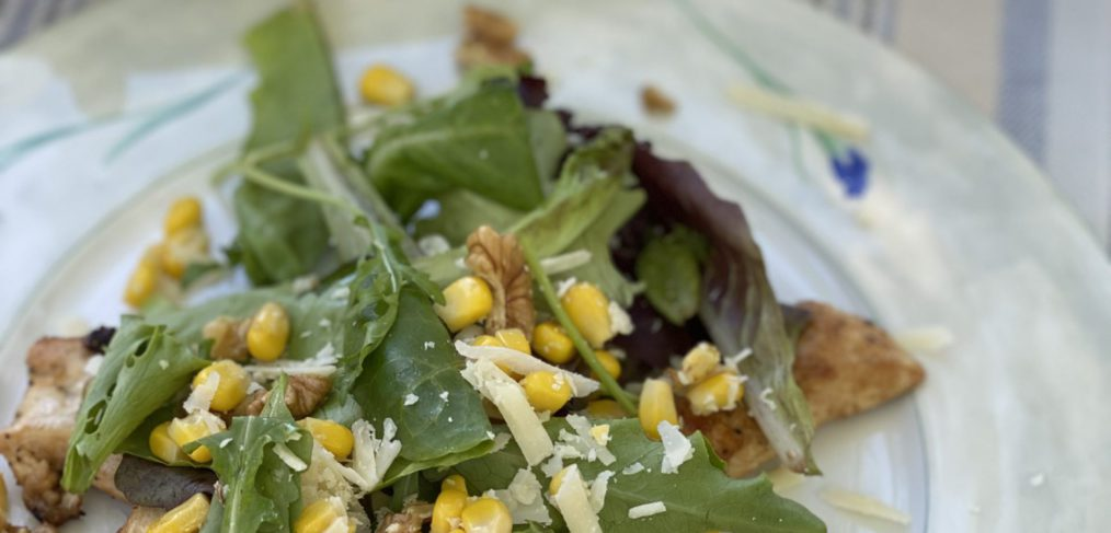 Healthy Nutritious Caesar Salad