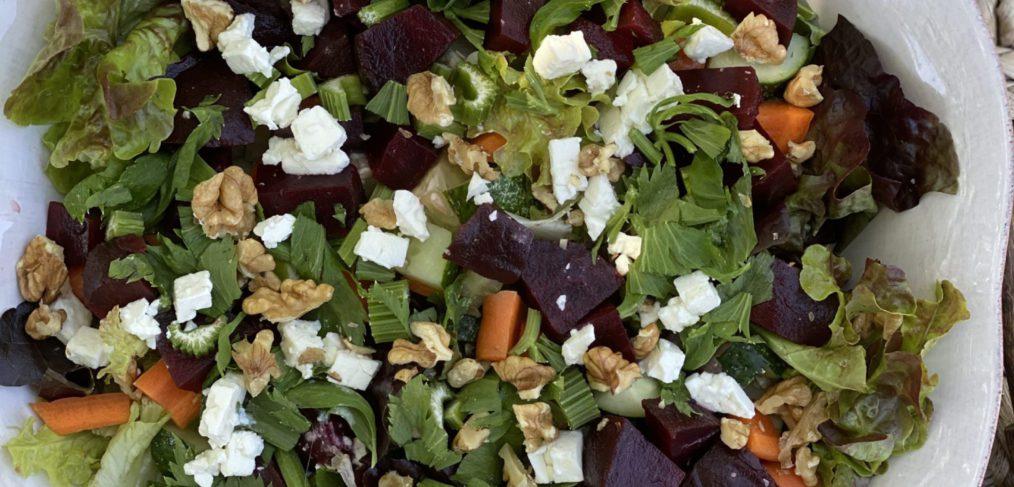 Beetroot, Feta & Celery Summer Salad
