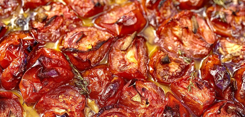 Incredibly Easy Tomato Confit by May Simpkin Nutrition